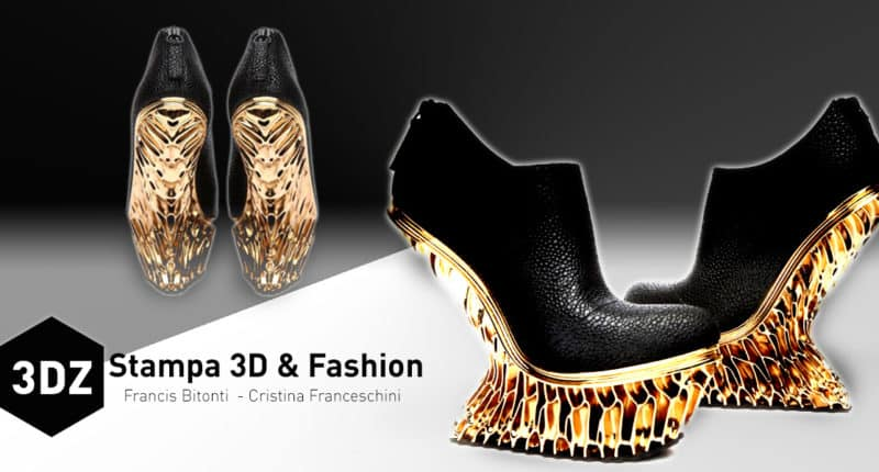 Shoes to masterpieces thanks to 3D printing technologies