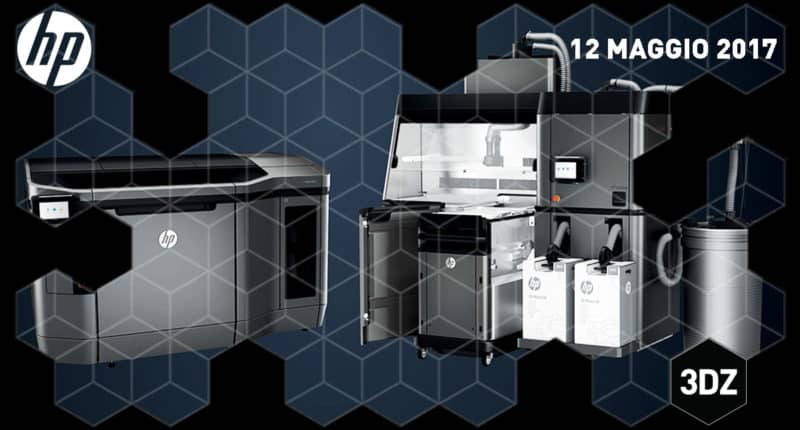 The HP Multijet Fusion 3D Printer – Open House with the HP team