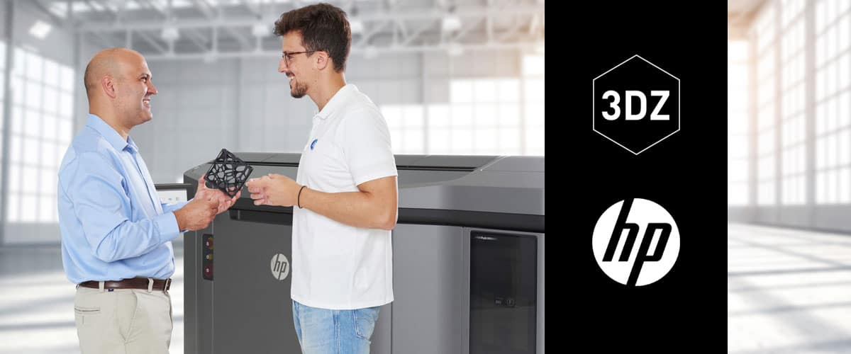 HP introduced for the first time in Italy its revolutionary 3D printing technology with 3DZ at MECSPE