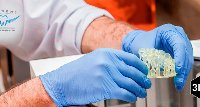 Dental 3D printing: digitized dentists and orthodontists