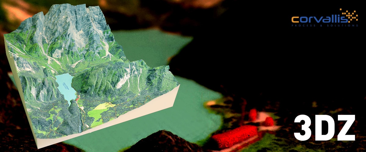 3D print and topography: the photorealistic territorial dioramas