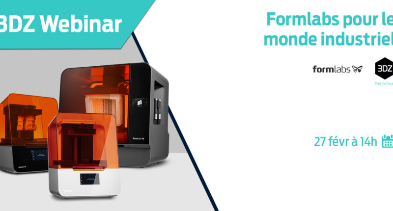 Production industrielle avec Formlabs