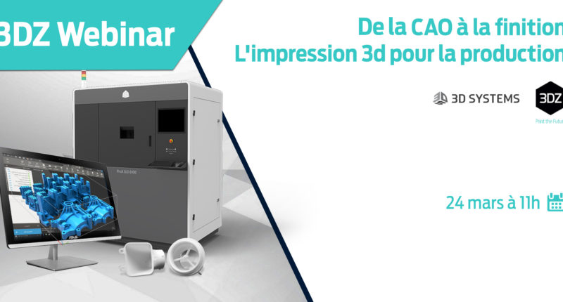 Webinar – De la CAO 3D à la production