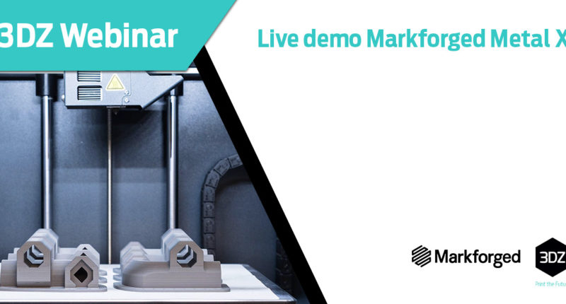 Live demo Markforged Metal X