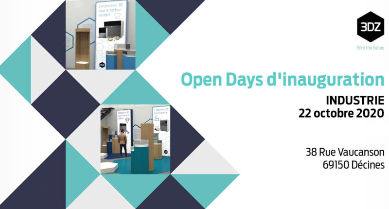 Open Days d'inauguration : INDUSTRIE