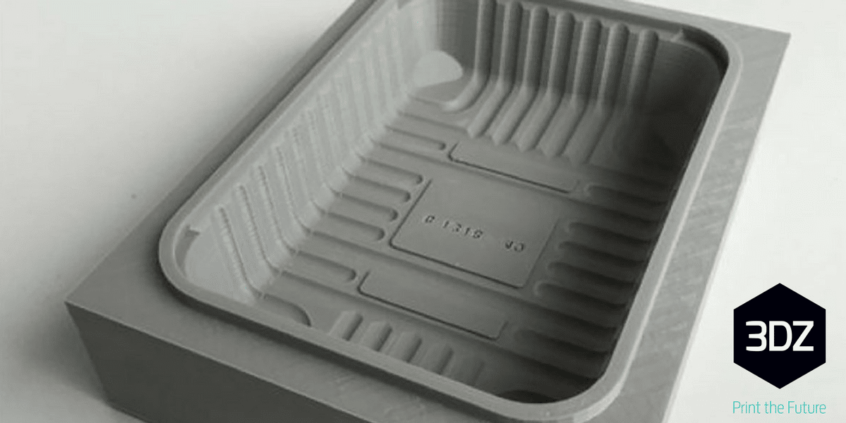 manufacturing of thermoformed mould from 3d printing